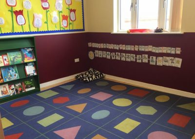 Classroom play area